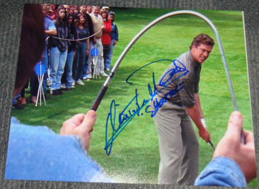 christopher mcdonald happy gilmore shooter autographed 8x10
