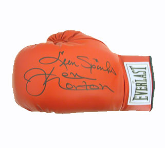 Autographed Leon Spinks & Ken Norton