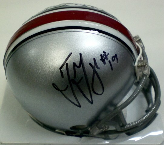 Autographed Ted Ginn Jr. Ohio State