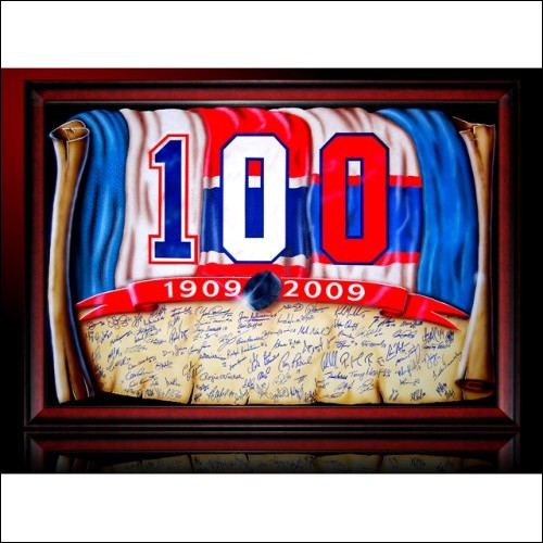 Autographed Montreal Canadiens