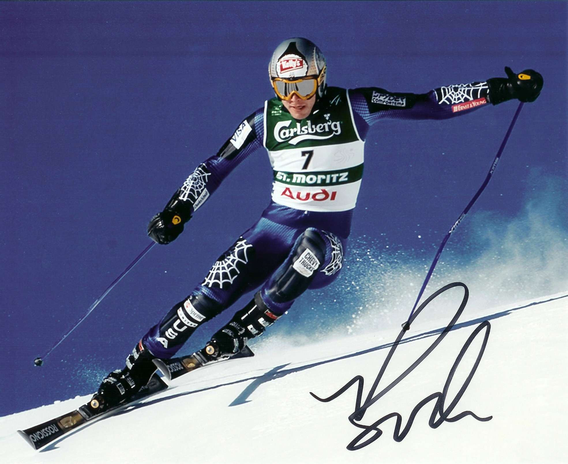 Autographed Bode Miller USA