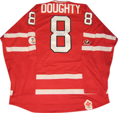 Autographed Drew Doughty Team Canada