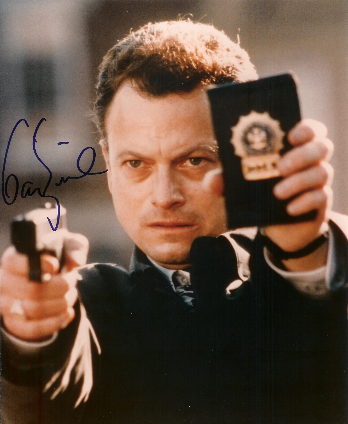 Autographed Gary Sinise