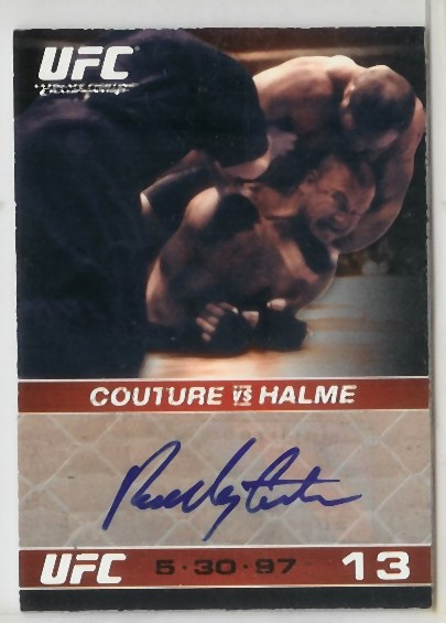 Autographed Randy Couture