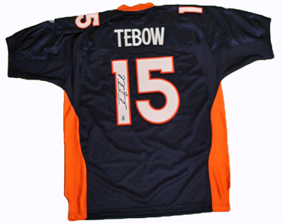 Autographed Tim Tebow
