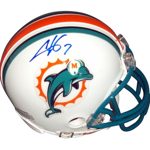 Autographed Chad Henne