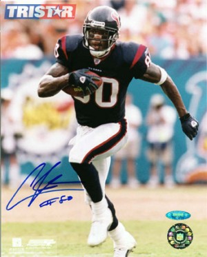 Autographed Andre Johnson