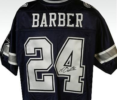 Autographed Marion Barber