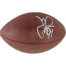 Autographed Justin Tuck