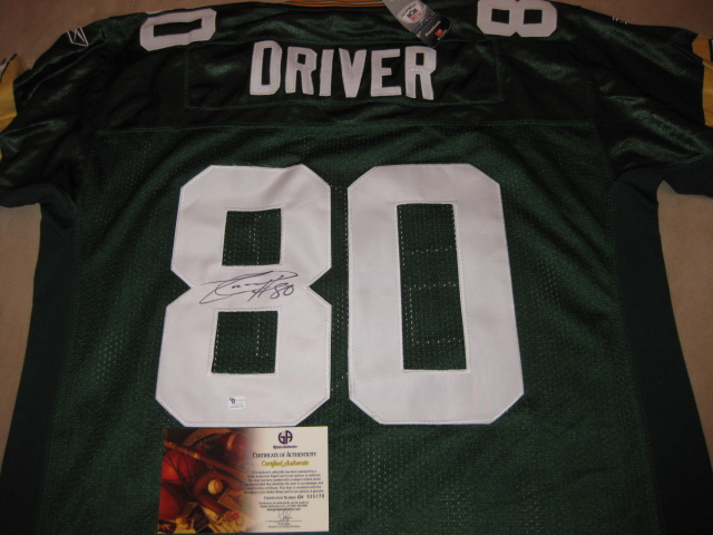 donald driver jersey