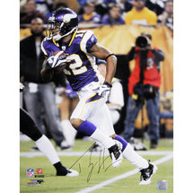 Autographed Percy Harvin