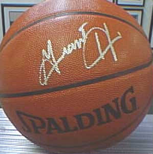 Autographed Grant Hill