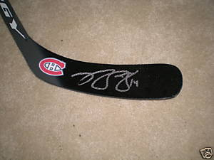 Autographed Brian Gionta