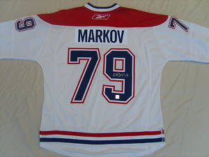 Autographed Andrei Markov