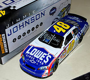 Autographed Jimmie Johnson