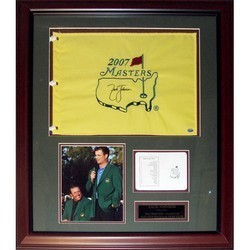 Autographed Zach Johnson