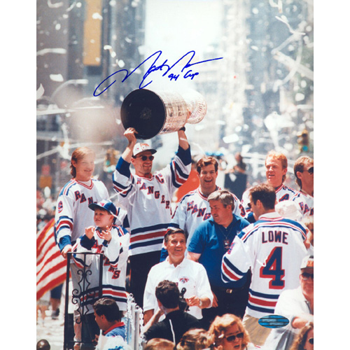Autographed Mark Messier Stanley Cup Parade