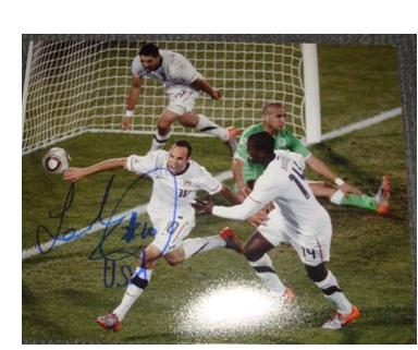 Autographed Landon Donovan Team USA
