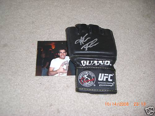 Autographed Kenny Florian