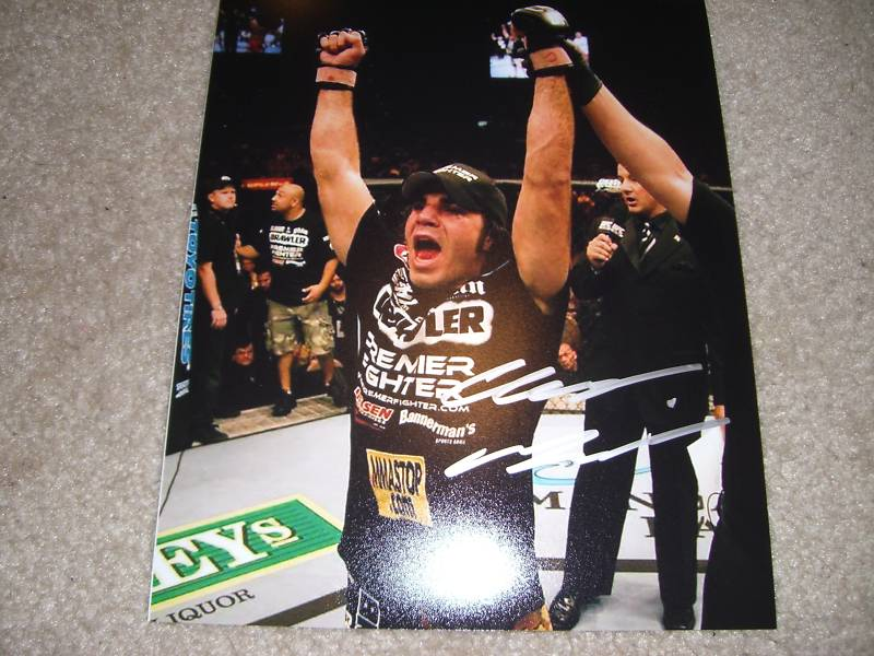 Autographed Clay Guida
