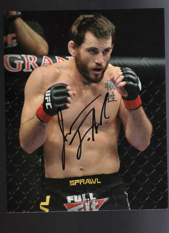 Autographed Jon Fitch