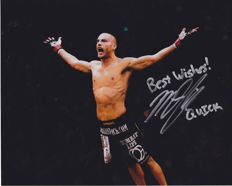 Autographed Mike Swick