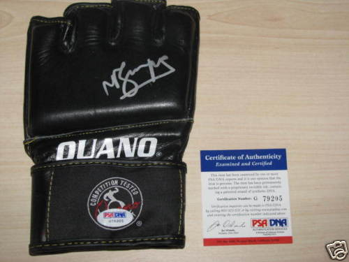 Autographed Michael Bisping