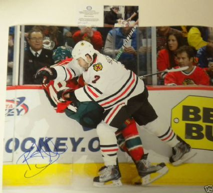 Autographed Brent Seabrook