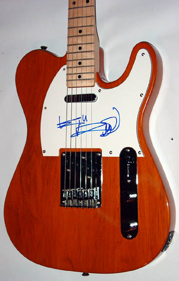 Autographed Keith Richards