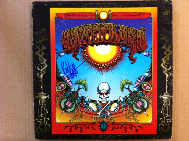 Autographed Bob Weir