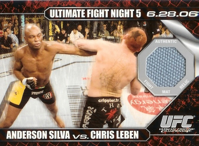 Autographed Anderson Silva