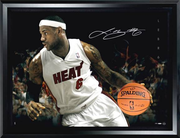 lebron james autograph - photo #7