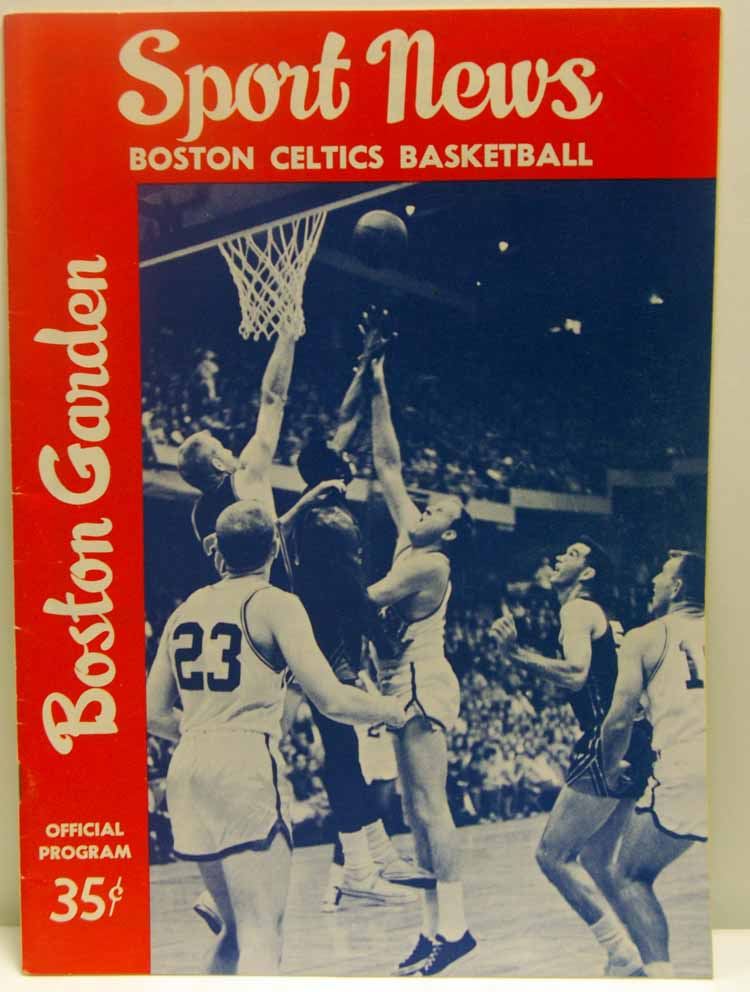 Autographed 62-63 Boston Celtics
