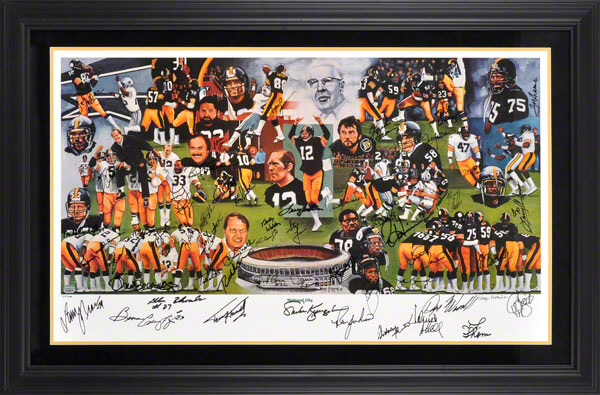 Autographed Pittsburgh Steelers