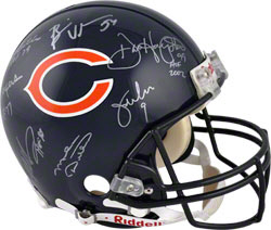 Autographed Chicago Bears Greats