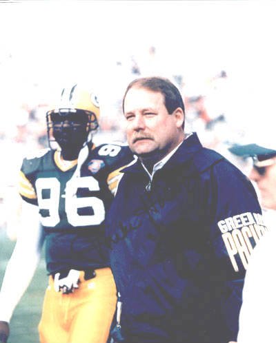 Autographed Mike Holmgren