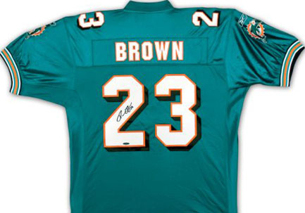 Autographed Ronnie Brown