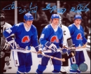 Autographed Peter Anton & Marian Stastny