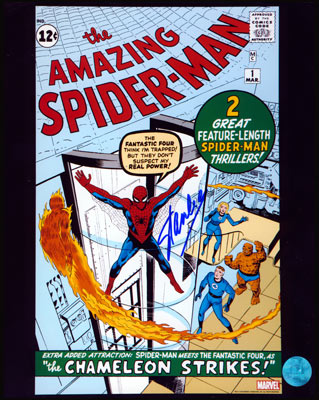 Autographed Stan Lee - Spider-Man
