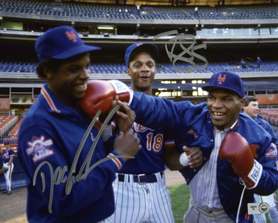 Autographed Doc Gooden & Darryl Strawberry