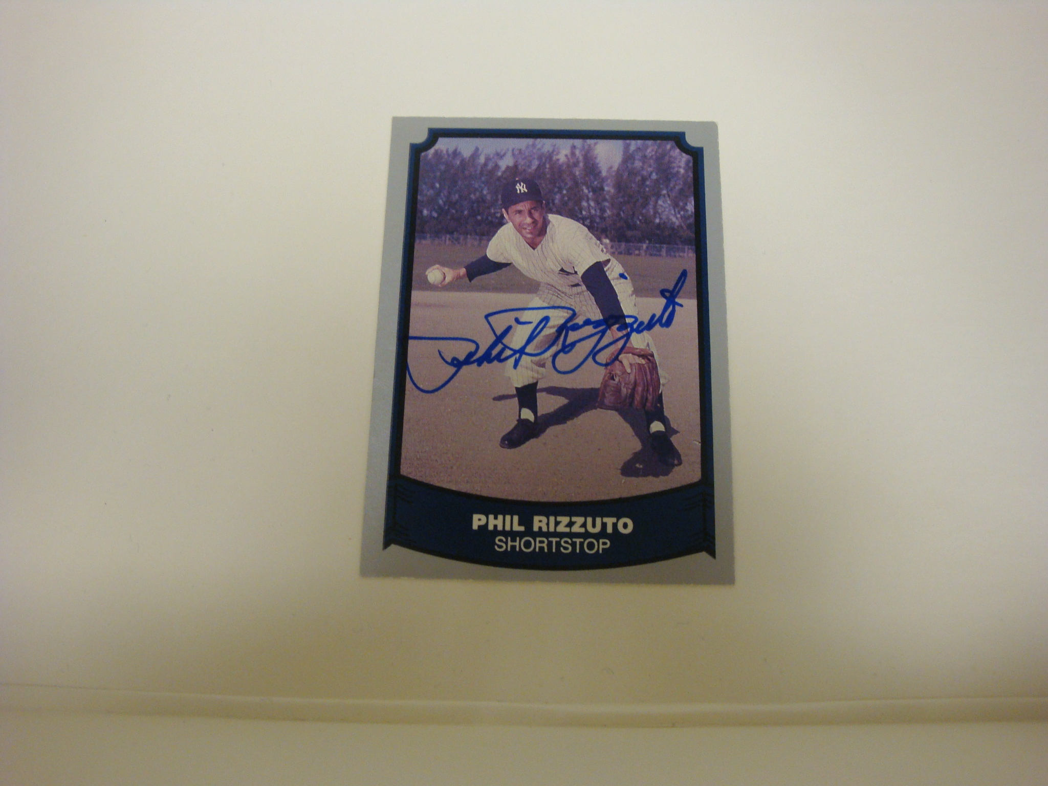 Autographed Phil Rizzuto