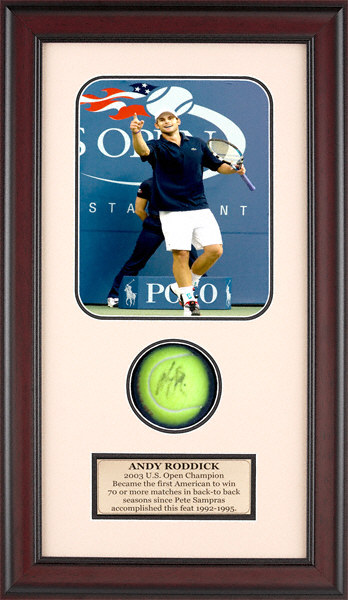 Autographed Andy Roddick