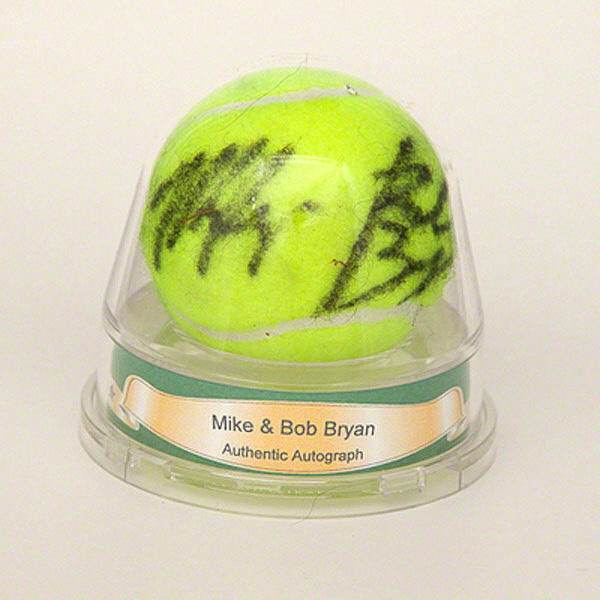Autographed Mike & Bob Bryan