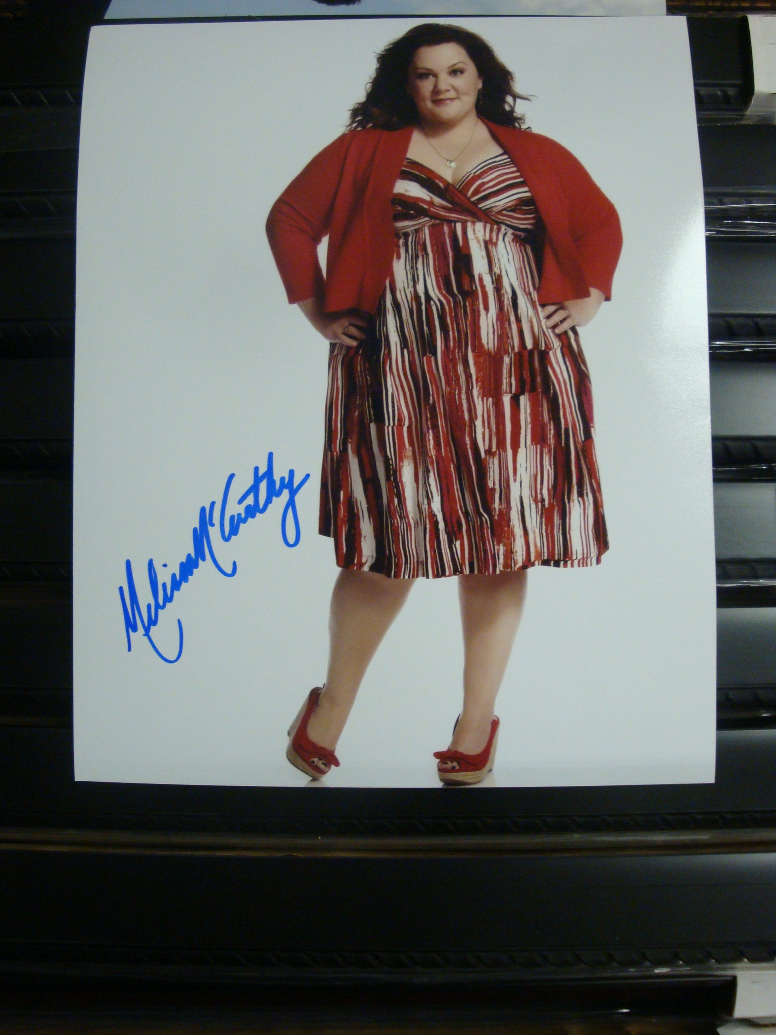 Autographed Mike & Molly - Melissa McCarthy signed