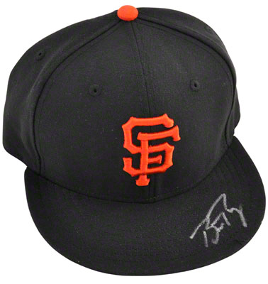 Autographed Buster Posey Giants signed