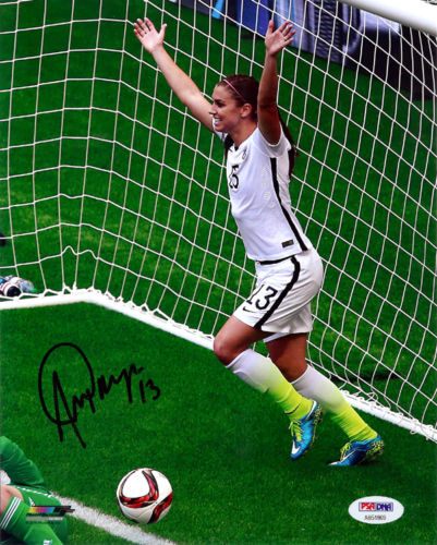 Autographed Alex Morgan Signed