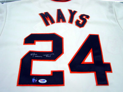 Autographed Willie Mays