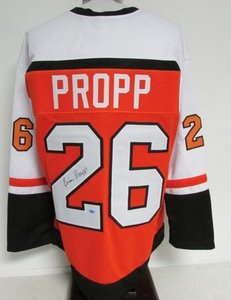 big sale 3291c b079b Brian Propp Autographed Jersey