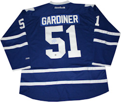 0fc608b24 Jersey autographed by Jake Gardiner (Toronto Maple Leafs star)