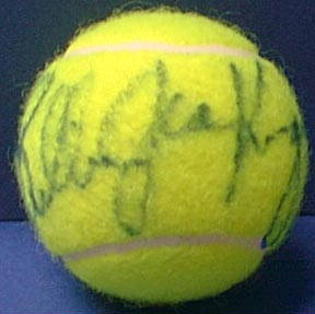 Autographed Billie Jean King